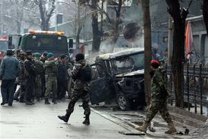 Afghan blast kills 33; Islamic State blamed