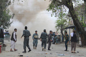 Suicide bomb attack kills at least 30 people in Afghanistan